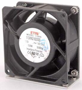 ETRI 12038 125XR5181002 208-240V Aluminum frame high temperature AC cooling fan
