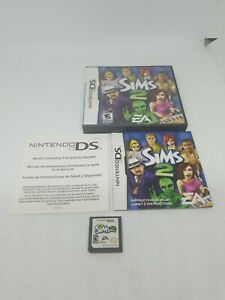 The-SIMS-2-Nintendo-DS-Game-Original-Case-amp-Instruction-Booklet-Included