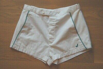 Efficiente Best! Vintage 70s Jantzen Crazy Corta Tennis Atletico Pantaloncini W/ Terry Quell Summer Thirst