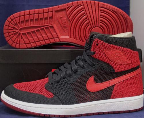 Hi Alto Talla Nike Flyknit Bred 1 Rojo Banned Air Jordan 11 Retro Negro wrqqIPv