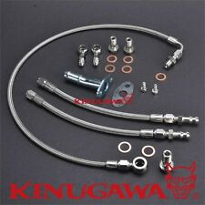 Kinugawa For Volvo 740 940 B230ft Turbo Oil Water Line Kit With Mhi Td04 Turbo