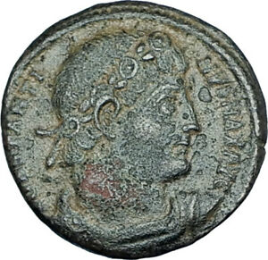 CONSTANTINE-I-the-GREAT-330AD-Authentic-Ancient-Roman-Coin-w-SOLDIERS-i65976