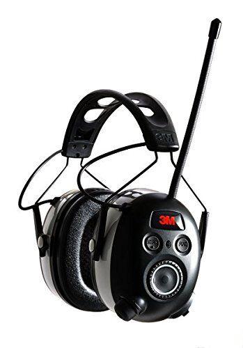 NEW 3M 90542 BLUETOOTH WORKTUNES AM/FM/MP3 DIGITAL EARMUFFS HEADSET HEADPHONES
