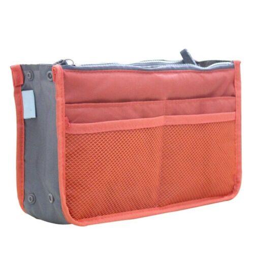 Organizer Insert Bag Women Nylon Travel Insert Organizer Handbag Purse Large