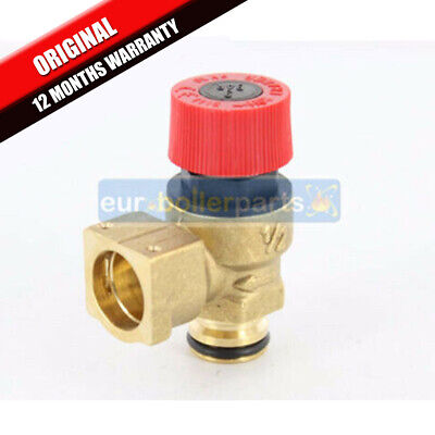 Ravenheat HE85 HE85T 3 Bar Pressure Relief Safety Valve 0008VAL01018//1 BRAND NEW