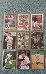 Vinny-Castilla-Baseball-Card-Mixed-Lot-approx-33-cards