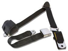 Mustang Falcon Retractable  3-Point Shoulder seat belt Black