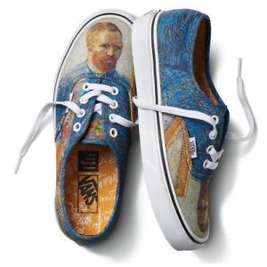 5d826acf73e Vans x Vincent Van Gogh Museum Authentic Self Portrait Sneakers ...
