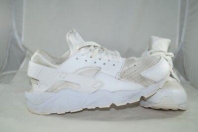 Nike Air HUARACHE 46 44,5 US 12 UK 11 Weiss Sportschuhe Laufschuhe | eBay