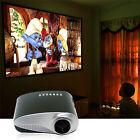 Mini Portable Home Cinema Theater LED Projector HD Multimedia USB VGA HDMI AV SD