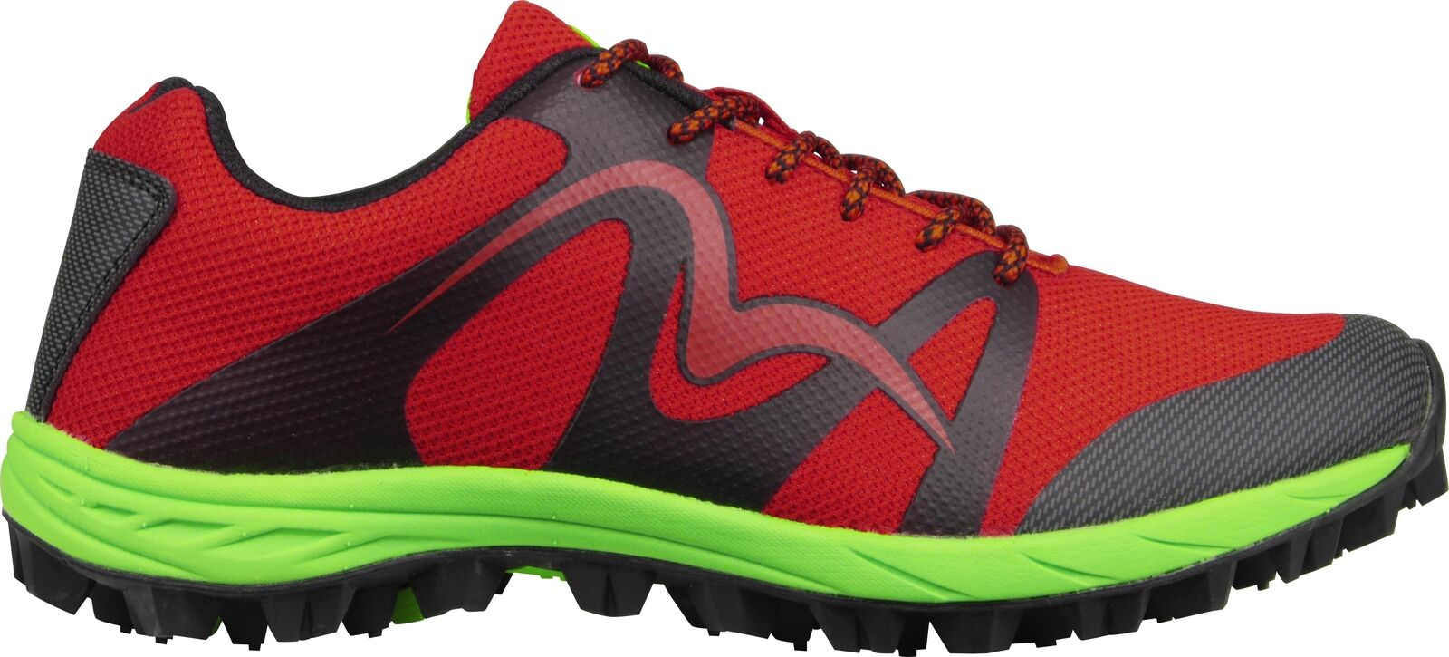 photos officielles 472bb 5f634 More Mile Cheviot 4 Mens Trail Running Shoes Offroad Trainers Red Fell  Racing