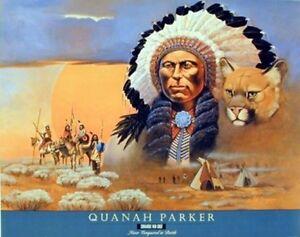 Native-American-Indian-Comanche-Chief-Quanah-Parker-Home-Decor-Art-Print-16x20