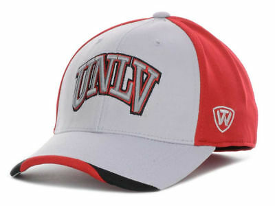 UNLV Runnin Rebels Men/'s Top of the World NCAA Grizzly One-Fit Flex Hat Cap