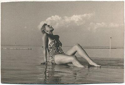 (3) Originale 1930 Bis1950 Bikinischönheiten, Swimsuit Beauties,maillot Bain Exzellente QualitäT