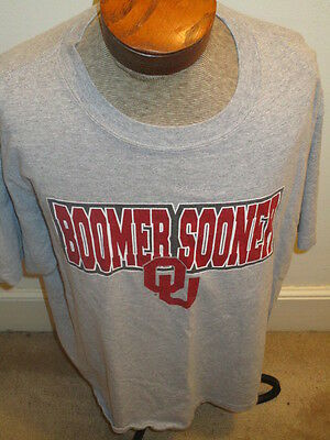 "Oklahoma University ""Boomer Sooner"" Extra Large T-Shirt by KA Inc."