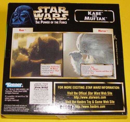 Star Wars The Power of the Force Kabe and Muftak zum aussuchen #84071