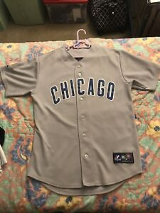 check out d02e6 39f52 Details about Majestic Authentic Chicago Cubs Jersey Sz M Men
