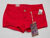 Truce Size 7 Coral Denim Shorts W/tags