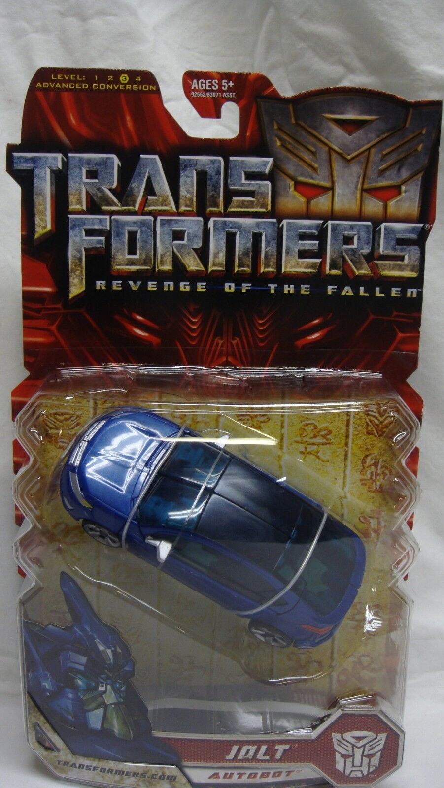 TRANSFORMERS REVENGE OF THE FALLEN redF AUTOBOT JOLT DELUXE CLASS NEW SEALED
