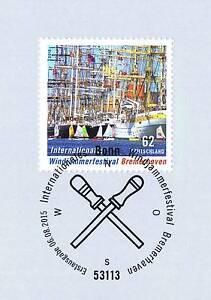 Rfa 2015: Windjammer Festival Wilhelmshaven Nº 3172 Avec Cachet De Bonn! 1a! 1607-ival Wilhelmshaven Nr. 3172 Mit Bonner Stempel! 1a! 1607fr-fr Afficher Le Titre D'origine
