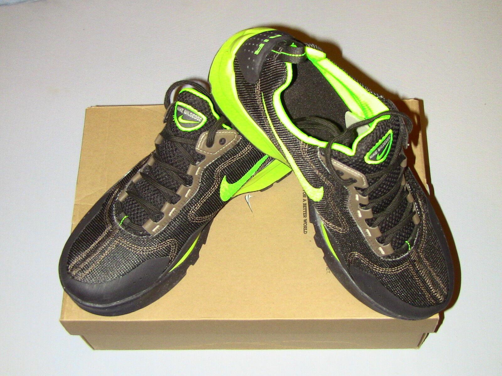2008 Nike ACG Wildedge Midnight Fog Volt 315951 072 Men US Size 9 NEW