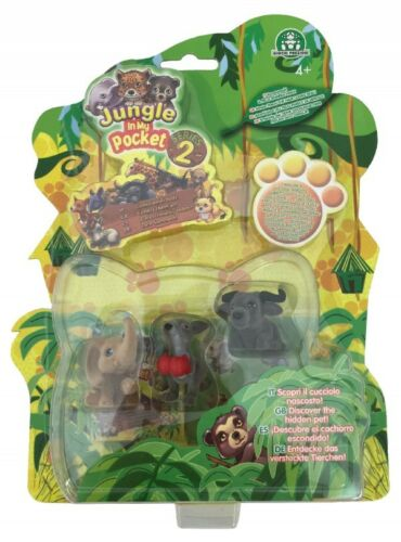 T335X Giochi Jungle in My Pocket Serie 2 Figuren S4