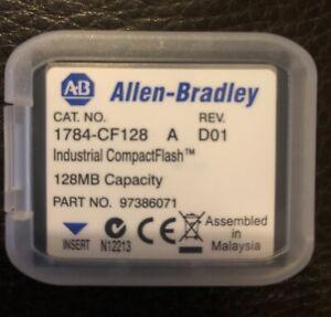 Allen Bradley 1784-CF128 Industrial CompactFlash Memory Card, 128MB, Rev D01