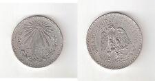 129004) MESSICO MEXICO UN PESOS DEL 1934 ARGENTO COME DA FOTO
