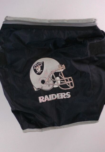 Oakland Raiders NFL Team VTG Insulated Cooler Large 15 x 12 x 8 Tailgating Cali