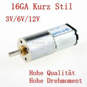 37mm Getriebe Motor elektrisch 12V 50 U//min für Modellbau