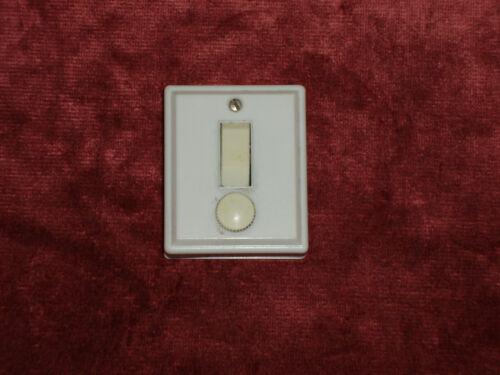 Interrupteur simple allumage avec fusible complet Azur Mistral Legrand