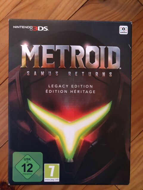 METROID 3ds neuf Samus Returns Edition Héritage Legacy Edition Nintendo 3DS NEW