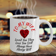 Surprise Birthday Gift For Wife Wedding Anniversary Her Color Changing Magic Mug