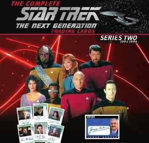 NEW-Complete-Star-Trek-TNG-Series-2-19-Card-Limited-Autograph-Set