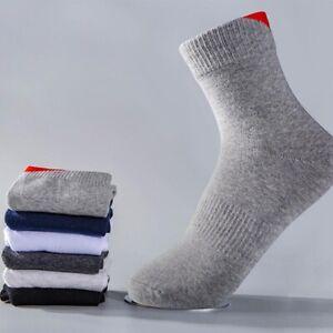 casual-men-solid-color-Autumn-Winter-business-cotton-socks-sports