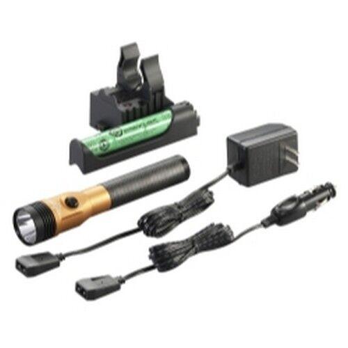 Streamlight 75480 Stinger LED HL Rechargeable Flashlight - 120 DC,  - orange