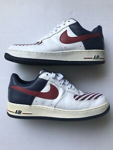 """Details about Mens NIKE AIR FORCE 1 LOW PREMIUM """"ARMED FORCES AF1""""  312945-161 Size 10 Preowned"""