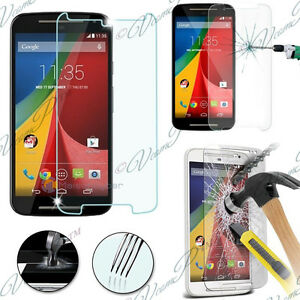 2-Films-Verre-Trempe-Protecteur-Protection-Motorola-Moto-G-2nd-Gen-Dual-SIM