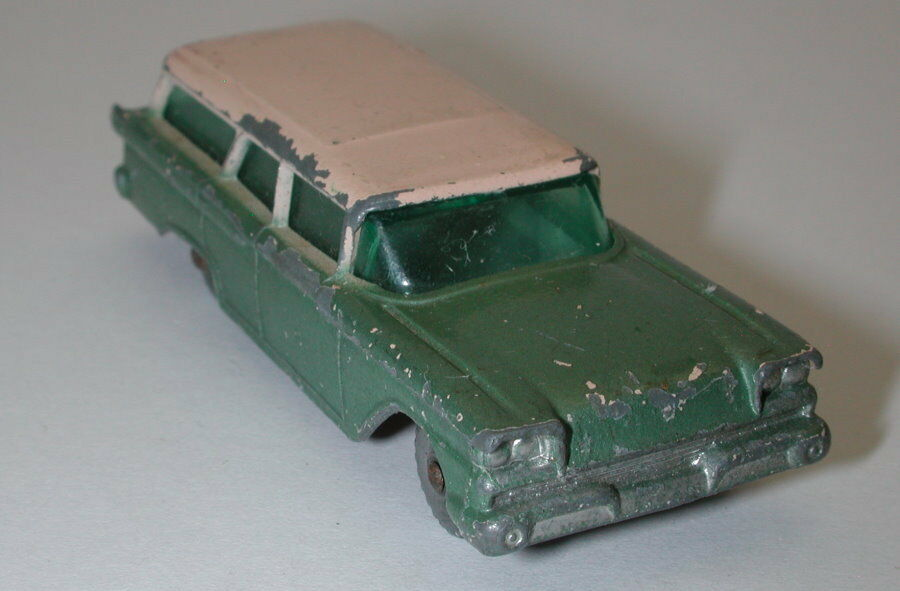 Matchbox Lesney Grey Wheels No. 31 American Ford Ford Ford Station Wagon oc16664 b9a954