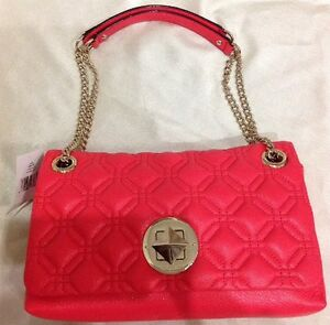 Kate-Spade-Astor-Court-Cynthia-Geranium-Leather-Shoulder-Bag-Brand-New-With-Tag