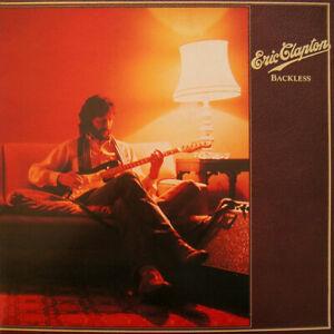 Eric-Clapton-Backless-Vinyl-12-034-LP-Gatefold-Album-RSO-RSD-5001-1978-Free-P-amp-P