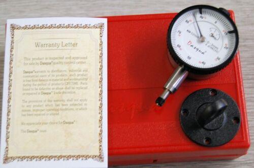Dasqua Mini Dial Gauge 0-3 mm x 0.01 mm With Lug Ref: 51211201