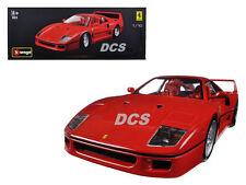BBURAGO ORIGINAL SERIES FERRARI F40 RED 1/18 DIECAST MODEL CAR 18-16601RD