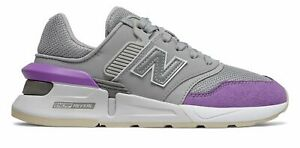 New Balance Women's 997 Sport Shoes Grey with Purple