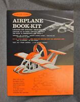 1963 Aviation Science Airplane Book-kit Paper/fiber Model