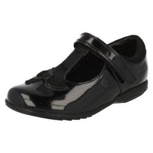 Détails sur Filles Clarks Habillé Chaussures D'École Trixi Pattes D'Éléphants