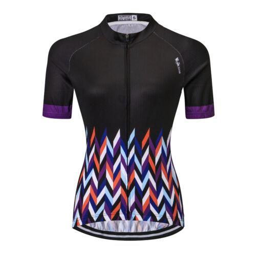 Women/'s Cycling Jersey Clothing Bicycle Sportswear Short Sleeve Bike Shirt  T08