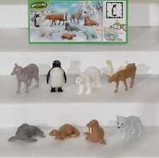 Natoons-polar animales, Ü-huevo completamente frase, todos bpz tr001-tr008, 2012