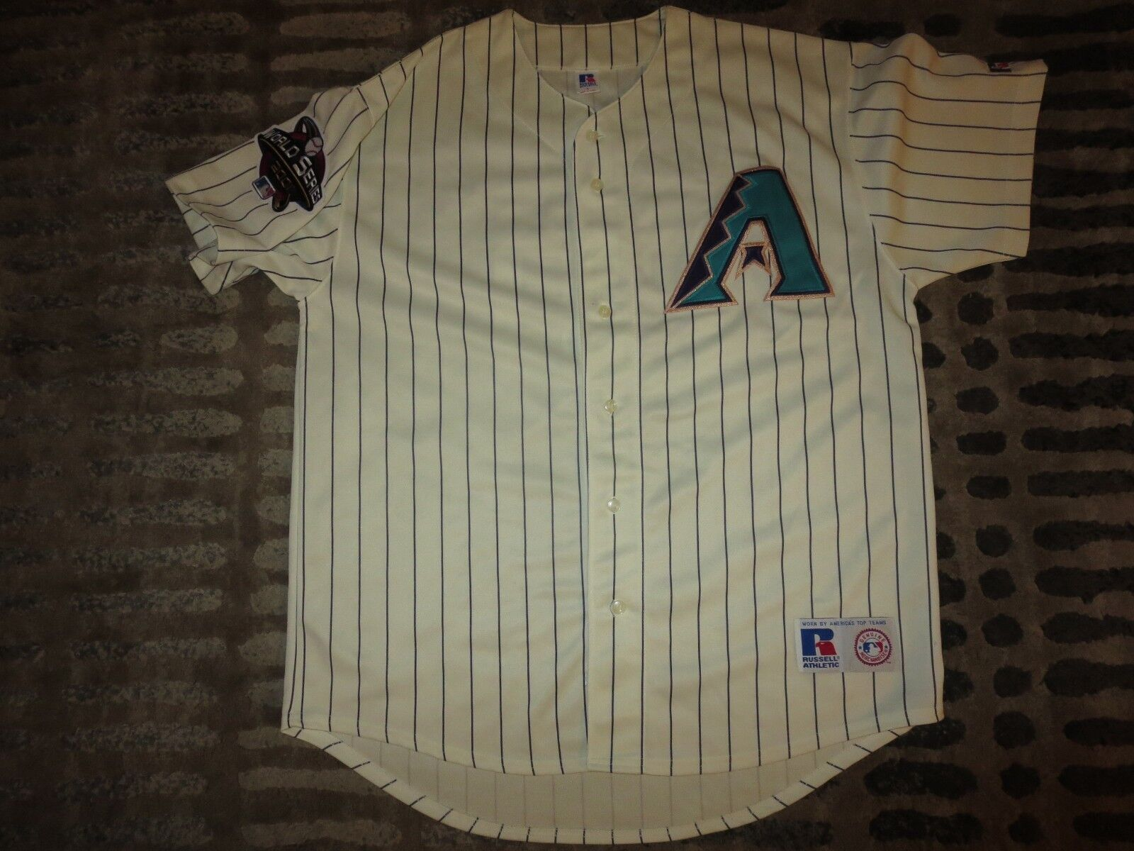 Luis Gonzalez  20 Arizona Reverso Diamantes