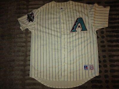 Besorgt Luis Gonzalez #20 Arizona Diamondbacks 2001 Mlb Welt Serie Majestätisch Trikot L Sport Baseball & Softball